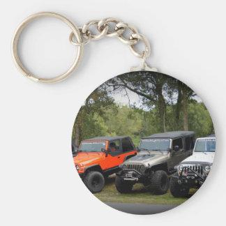 Jeep Club Keychain