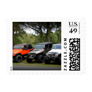 Jeep Club Postage Stamp