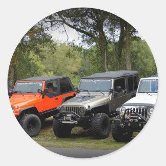 Jeep Club Stickers
