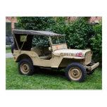 Jeep de Willys Tarjetas Postales
