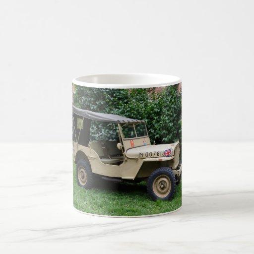 Jeep del MB de Willys Taza De Café