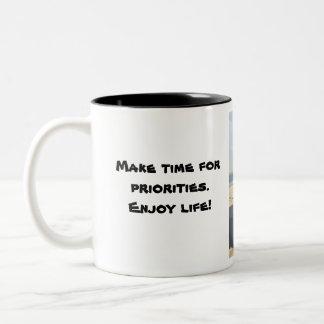 Jeep.Enjoy.Life.2 Two-Tone Coffee Mug