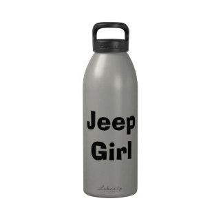 Jeep Girl -4 Drinking Bottle