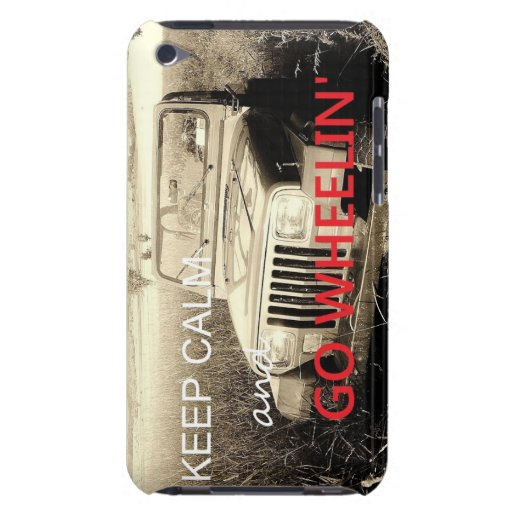 Jeep Go Wheelin ipod case