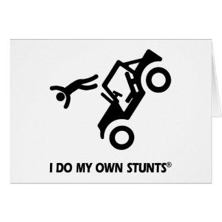 Jeep My Own Stunts Card