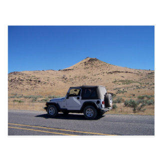 Jeep Postcard