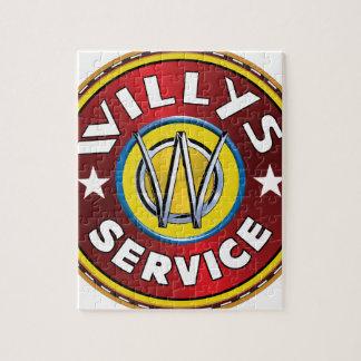 Jeep terrestre de Willys Rompecabeza Con Fotos