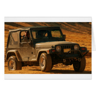 Jeep tj black card