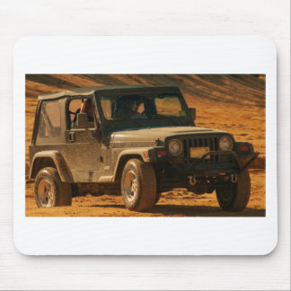 Jeep tj black mouse pad