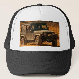 Jeep tj black trucker hat