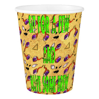 Jeepers Creepers Paper Cup