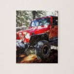 "Jeeplife Jigsaw Puzzle<br><div class=""desc"">Just a Jeep in a stream.</div>"