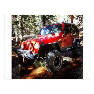 Jeeplife Postcard