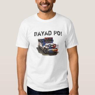 Jeepney, Bayad Po! Tee Shirt
