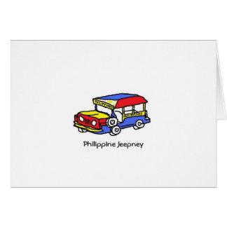 JEEPNEY FILIPINO FELICITACION