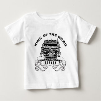 Jeepney king of the road baby T-Shirt