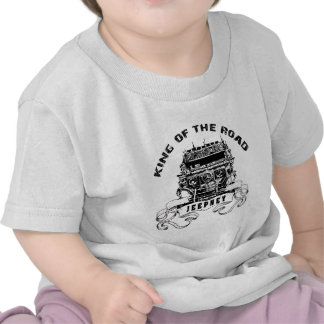 Jeepney king of the road t shirt