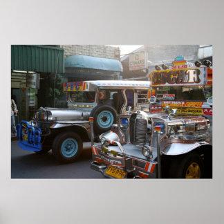Jeepney Posters