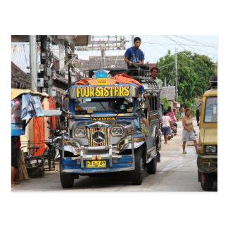 Jeepney Postcard