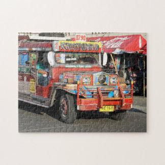 Jeepney Rompecabezas Con Fotos