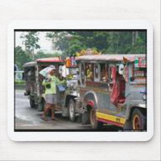 Jeepney stop.jpg mouse pad