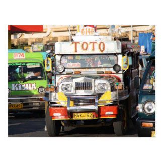 Jeepney Postales
