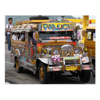 Jeepney Tarjeta Postal
