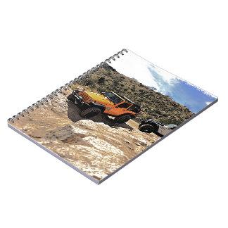 Jeeps agradables con los tops abajo libreta