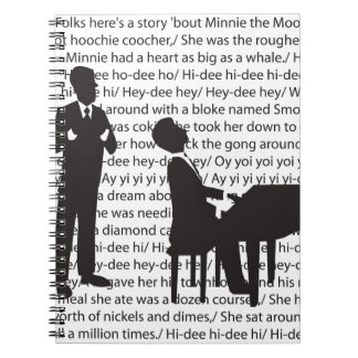Jeeves & Wooster Spiral Notebook