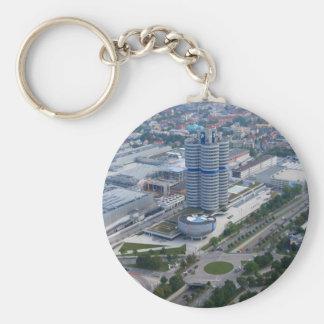 Jefaturas de BMW en el llavero de Munich