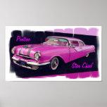 Jefe 1955 de la estrella de Pontiac Impresiones