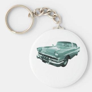 Jefe 1957 de la estrella de Pontiac Llaveros Personalizados