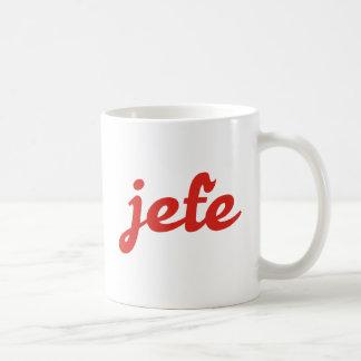 jefe boss boss coffee mug