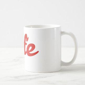 jefe boss boss classic white coffee mug