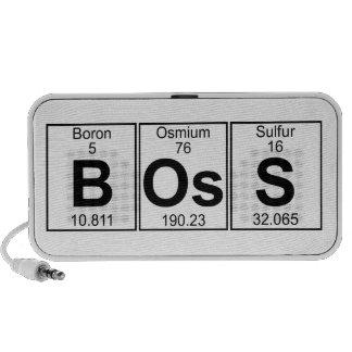Jefe (boss) - por completo altavoz de viaje