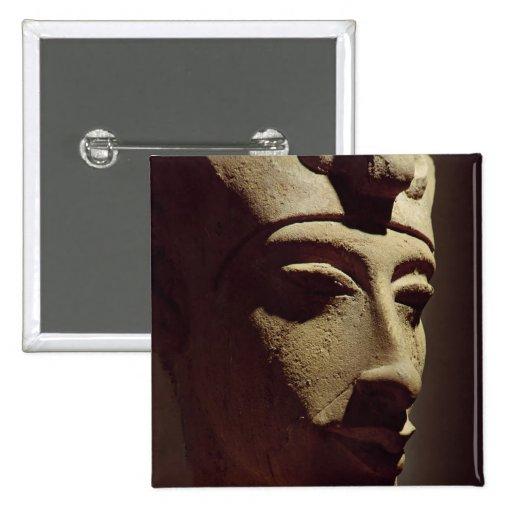 Jefe de Amenophis IV Pin Cuadrada 5 Cm