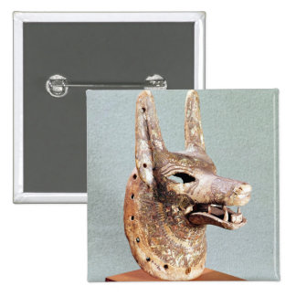 Jefe de Anubis con un mandíbula con bisagras Pins