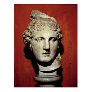 Jefe de Apolo de Ephesus Tarjeta Postal