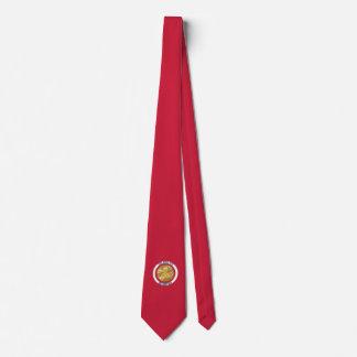 Jefe de bomberos 5 del bugle de la corbata del