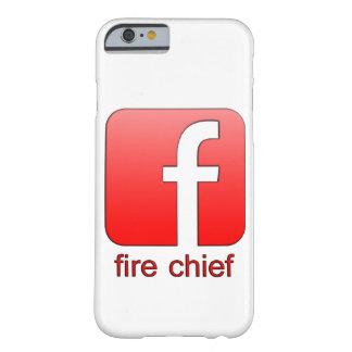 Jefe de bomberos de Facebook del logotipo de la Funda Para iPhone 6 Barely There