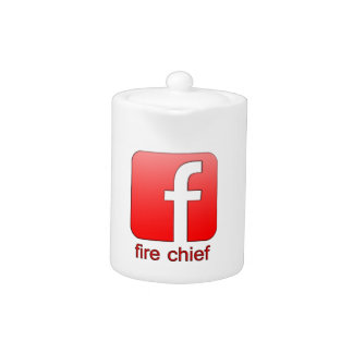 Jefe de bomberos de Facebook del logotipo de la