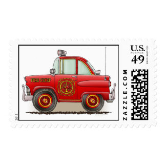 Jefe de bomberos del coche del sello