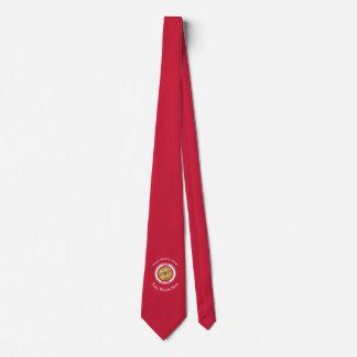 Jefe de bomberos jubilado corbatas personalizadas