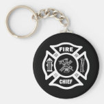 Jefe de bomberos llaveros
