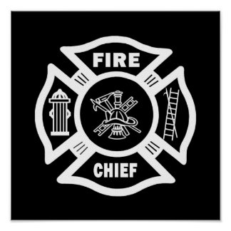 Jefe de bomberos posters
