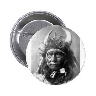 Jefe de Bull -- Apsaroke: 1908 Pins