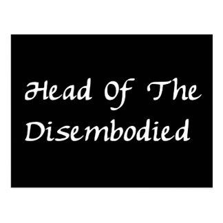 Jefe de Disembodied Postal