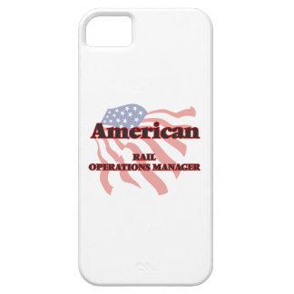 Jefe de explotación americano del carril iPhone 5 funda