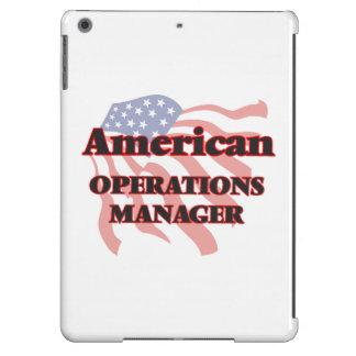 Jefe de explotación americano funda para iPad air