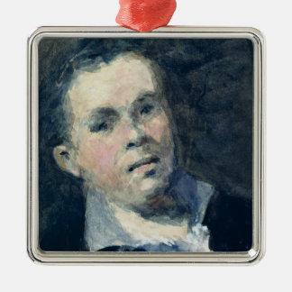 Jefe de Goya Adorno Navideño Cuadrado De Metal